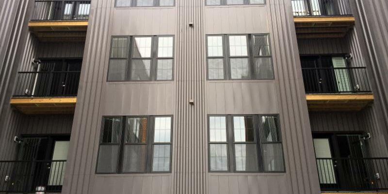 picket balconies 2 rows